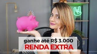 RENDA EXTRA! Ganhe 3000 reais por mês fazendo seus próprios horários