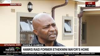 Hawks raid Zandile Gumede's residence