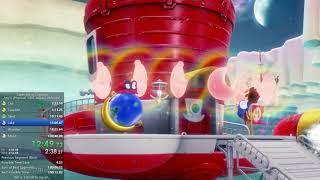 Super Mario Odyssey Any% Speedrun in 1:00:39