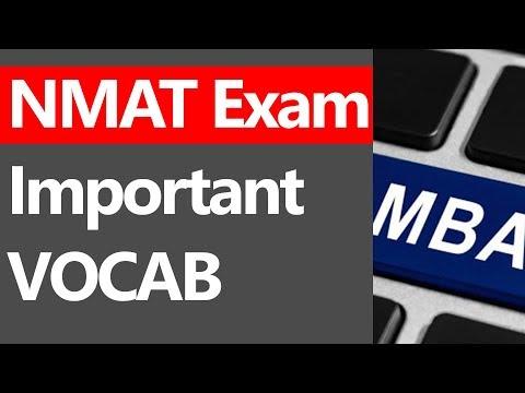 NMAT IMPORTANT VOCAB WORDS [WINDOW 3]