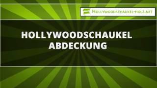 Hollywoodschaukel Abdeckung
