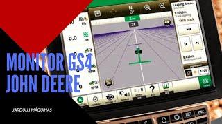 Apagar totais no Monitor GS4 John Deere