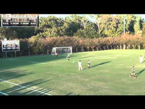 Women's Soccer:  Tyler vs Paris Junior College