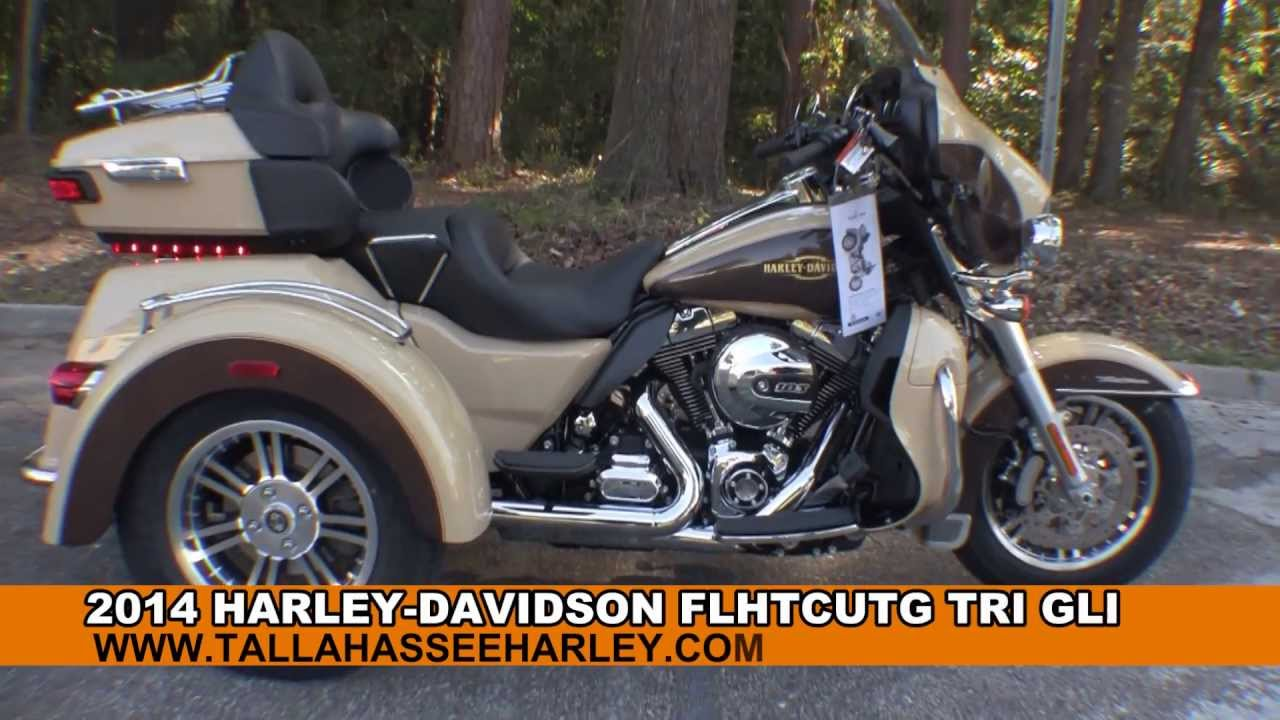 Harley Trikes For Sale >> New 2014 Harley Davidson Tri Glide Ultra Trike Motorcycle for sale - YouTube