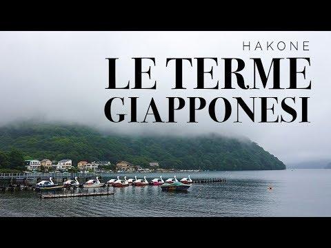Da sola alle terme giapponesi - HAKONE travel vlog   Serena Matcha Latte
