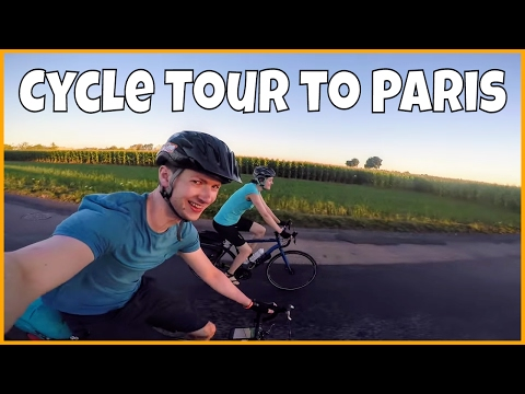 Cycle tour in France from Cherbourg to Paris