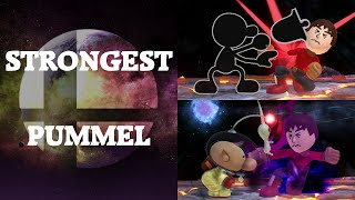 Super Smash Bros. 4 - Who has the strongest Pummel?
