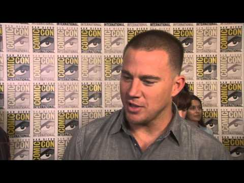 Channing Tatum interview at 'The Book of Life' press line during Comic-Con 2014