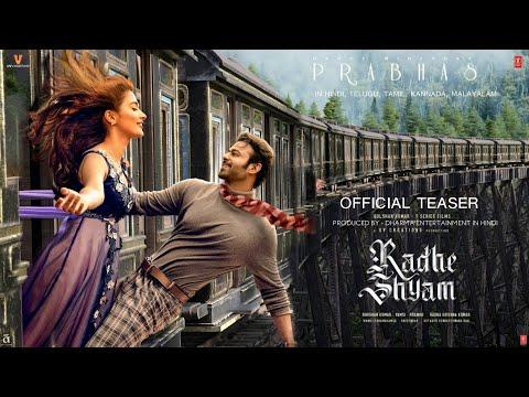 Radhe Shyam Teaser Trailer, Prabhas,Pooja Hegde,Radha Krishna Kumar,Radhe Shyam Trailer Hindi,