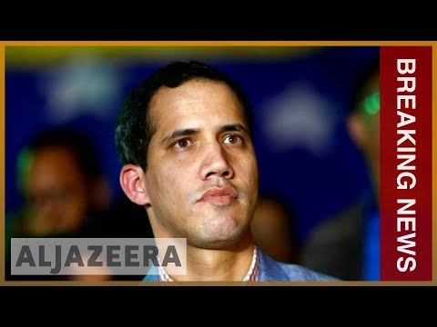 Venezuela opposition leader declares himself interim president