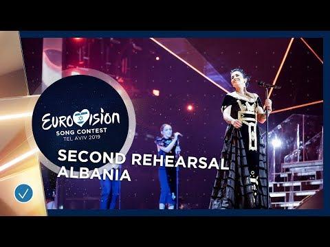 Albania 🇦🇱 - Jonida Maliqi - Ktheju tokës - Exclusive Rehearsal Clip - Eurovision 2019