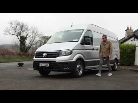 The All New Volkswagen Crafter 2018 As Big As It Gets Youtube
