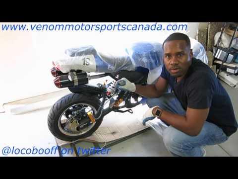 New In Stock 2016 X19 Super Pocket Bike Detailed Setup & Unboxing