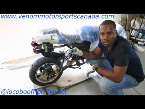 New In Stock 2016 X19 Super Pocket Bike Detailed Setup & Unboxing