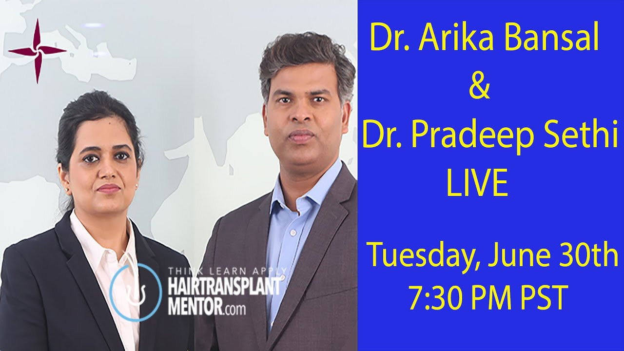 Dr. Arika Bansal of Eugenix Hair Sciences Livestream Q&A