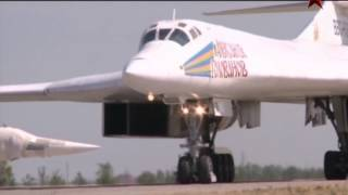 Tupolev Тu-160 supersonic strategic bomber