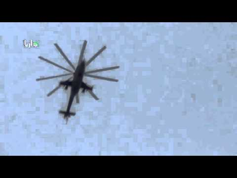 Two best footage - Bomb falls directly into ISIS Syria bomb attack