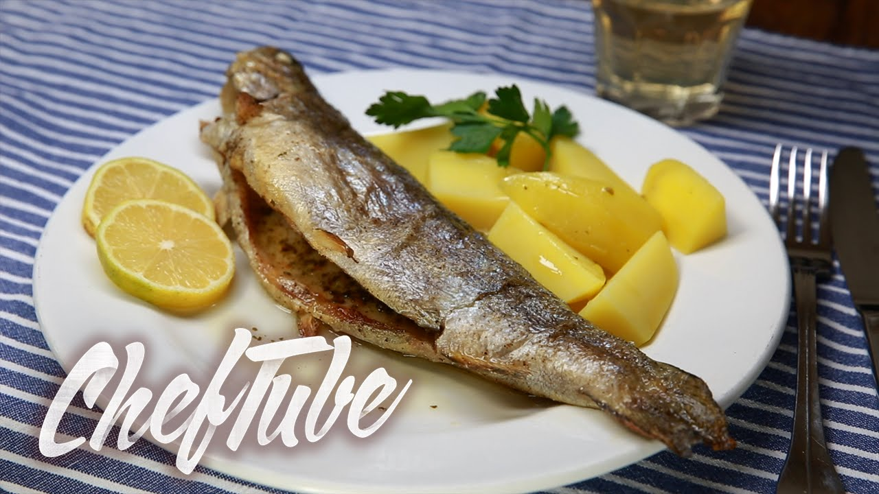 How to cook trout in the oven No frills 75