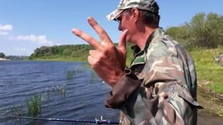 Репортаж с рыбалки. Гомель. Володькино озеро.