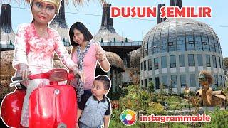 Jalan jalan Seru ke Dusun Semilir bersama Keluarga Reihan