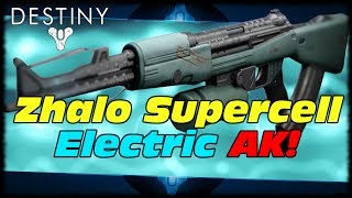 Zhalo Supercell Exotic Primary Arc Electrified AK! Destiny Zhalo Supercell Exotic Weapon Guide!
