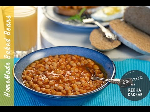 Easy baked beans with canned kidney