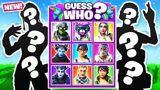 GUESS WHO Board Game *NEW* Game Mode in Fortnite Battle Royale