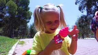 Alicia y hermanas en Boo Boo historia para niños