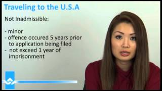 Travelling to USA  Inadmissibility Grounds