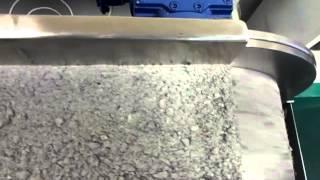 Работа сухого барабаного магнитного сепаратора