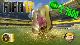 Fifa 17 Ultimate Team Opening 30 Premium Gold Packs