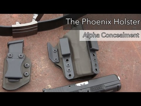 The Phoenix Holster From Alpha Concealment (NEW)