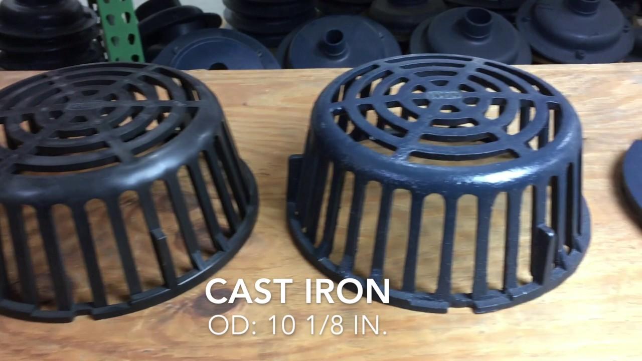 Buy Zurn Z121 Cast Iron Domes