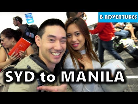Sydney to Manila, Airport Taxi Scams Philippines S3, Vlog #1