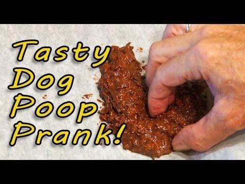 tasty-dog-poop-prank!