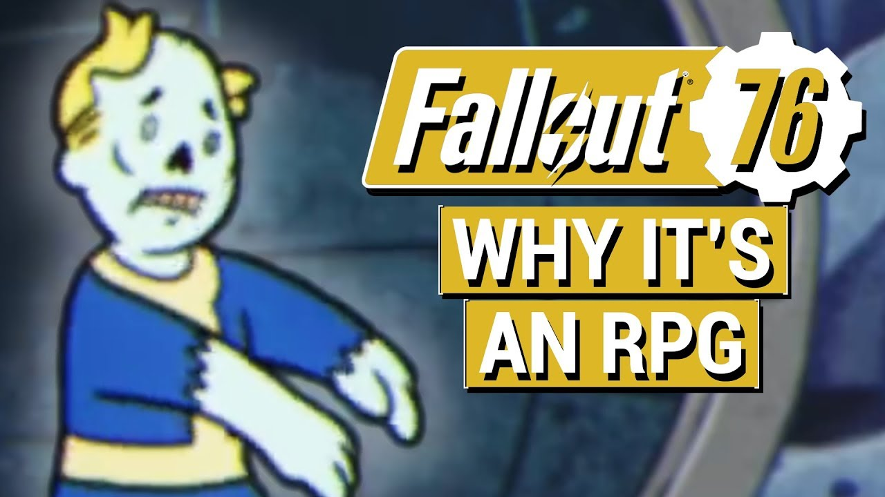Fallout 76 New Info Proves Fallout 76 Is Still An Rpg Robot Npcs Main Story And Side Quests