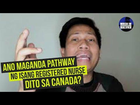 Ano Maganda Pathway Ng Isang Registered Nurse Dito Sa Canada?