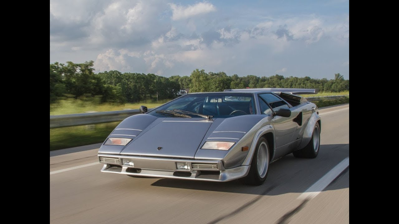 1982 Lamborghini Countach 5000s Youtube