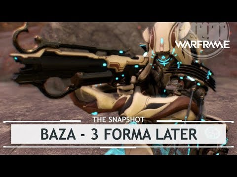 Warframe: Baza, Unloading in Peace & Quiet - 3 Forma Build [thesnapshot]
