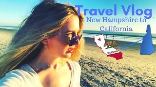 Moving Back to California from New Hampshire I Travel Vlog ✈️