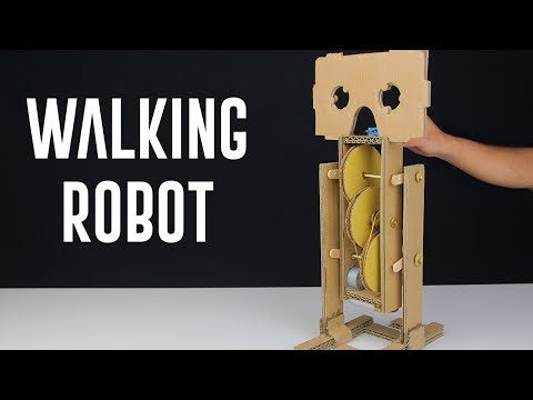 Thumbnail: How To Make a Simple Walking Robot?