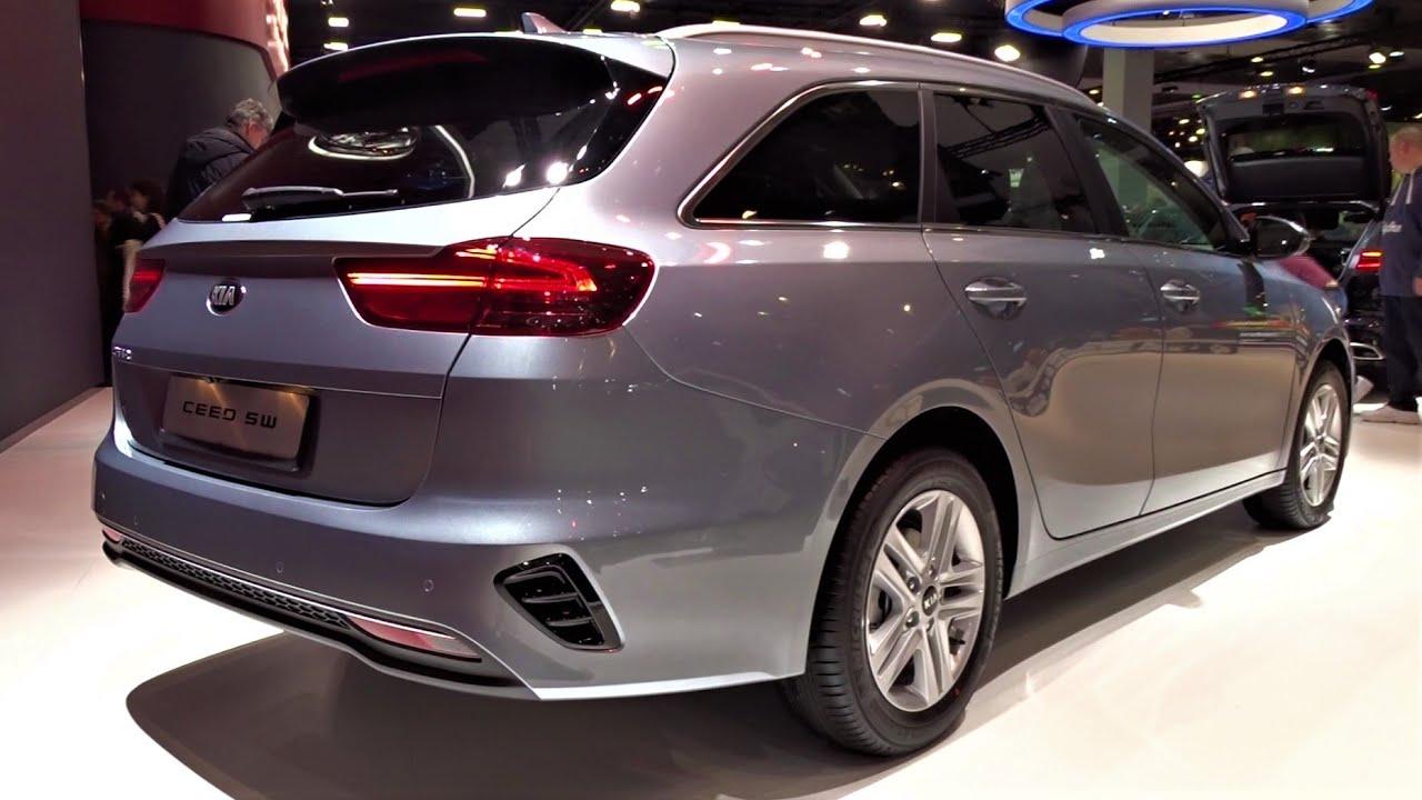 2020 Kia Ceed Sw 1 6 Crdi Sportswagon Interior Exterior Walkaround Auto Show Brussel 2020 Youtube
