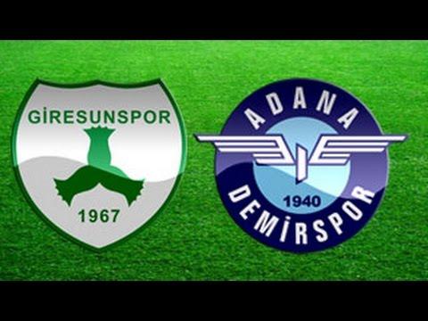 Giresunspor 0-1 Adana Demirspor (14.09.2014) PTT 1. Lig 2. Hafta