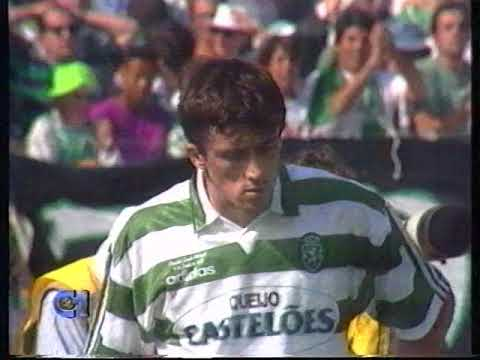 Sporting - 2 x Maritimo - 0 1994/1995 - O duelo Iordanov/Ewerton