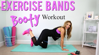 Booty Builder Workout | Resistance Bands Exercises