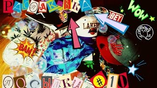 РАСПАКОВКА ПОСЫЛКИ #10 Review SnapBack, Obey, Huf, Red Bull Caps