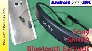 Sony SBH80 Bluetooth Earphones Review