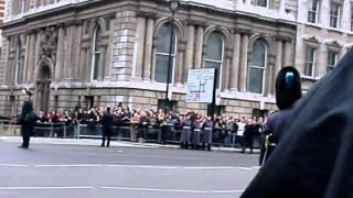 Remembrance Parade, 2010, cenotaph, London. 14/11/2010