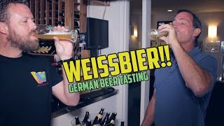 THE GERMANS ARE CRAZY!  We taste their wheat beers!