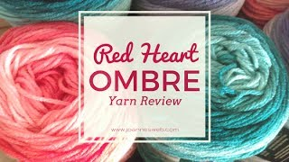 Video Red Heart Super Saver Ombre Yarn Review download MP3, 3GP, MP4, WEBM, AVI, FLV Juli 2018